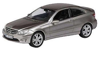 Modellauto:Mercedes-Benz CLC von 2008, silber(Schuco, 1:43)