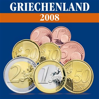 Griechenland – Kursmünzensatz 2008