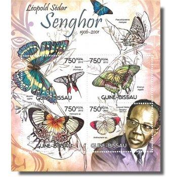 Leopold Sedar Senghor - Briefmarken-Block postfrisch, Guinea-Bissau