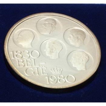 150 Jahre Unabhängigkeit, Silbermünze Belgien, Polierte Platte