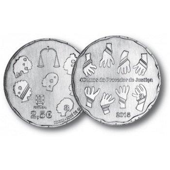 Bürgerbeauftragter, 2,50 Euro Kupfer-Nickel-Münze, Portugal