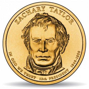 Zachary Taylor, Präsidentendollar 2009, USA
