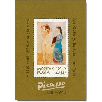 100. Geburtstag von Pablo Picasso, Briefmarken-Block postfrisch, Katalog-Nr. 154 A - Ungarn