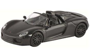 Modellauto:Porsche 918 Spyder, concept black(Schuco, 1:87)