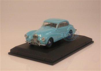 Modellauto:Healey Tickford von 1952, hellblau(Oxford, 1:43)