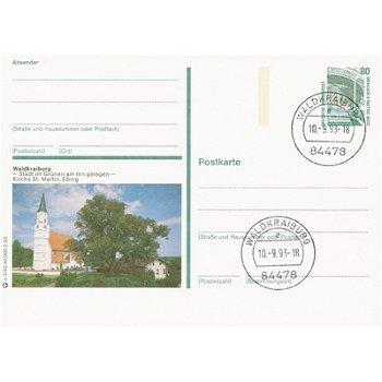 """8264 Waldkraiburg - Bildpostkarte """"Stadt im Grünen """""""