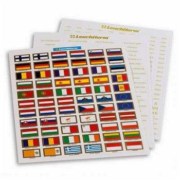 Etiketten, Sticker für Euro-Münzen, Leuchtturm 321082