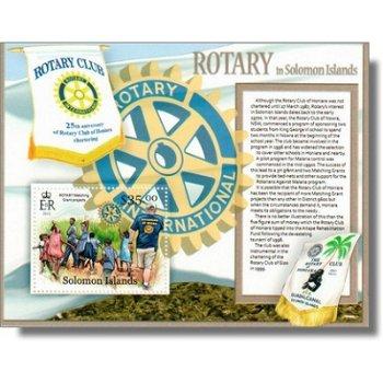 Rotary - Briefmarken-Block postfrisch, Salomon-Inseln