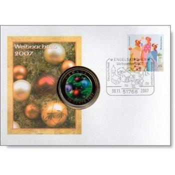 Weihnachten 2007 - Numisbrief Deutschland