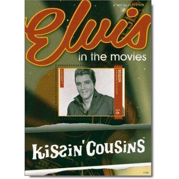 """Elvis Presley """"Kissin Cousins"""" - Briefmarken-Block postfrisch, Grenadinen von St. Vincent"""