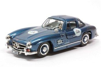 Modellauto:Mercedes 300 SL- Mille Miglia 1989 -(Bang, 1:43)
