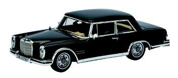 Modellauto:Mercedes-Benz 600 Coupé (W 110) von 1963- Fritz Nallinger -(Schuco/PRO.R43, 1:43)