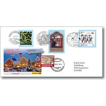 Three-Country Christmas Letter 2013 - Zeppelin NT receipt