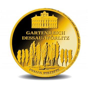 Dessau-Wörlitz, 100 Euro Goldmünze 2013, Deutschland