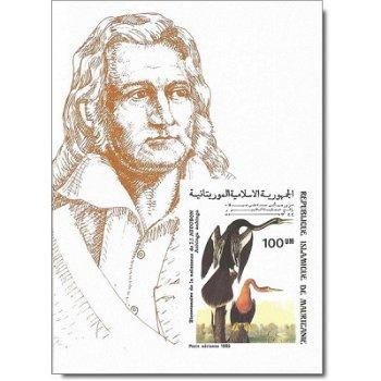 Schlangenhalsvogel - Briefmarken-Block ungezähnt postfrisch, Katalog-Nr. 856 Bl. 61B, Mauretanien