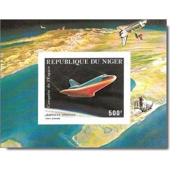 Erfolgreicher Flug des Space Shuttle - Briefmarken-Block ungezähnt postfrisch, Katalog-Nr. 746 Bl. 3