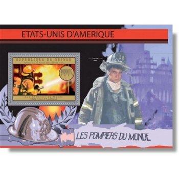 Feuerwehr - Briefmarken-Block postfrisch, Guinea