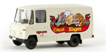 Modellauto:Mercedes-Benz L 406 D Kasten - Circus Krone - (Brekina, 1:87)
