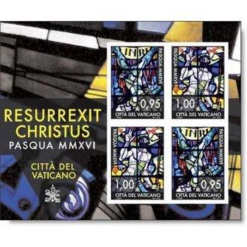 Ostern 2016 - Briefmarken-Block postfrisch, Vatikan