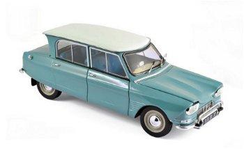 Modellauto:Citroen Ami 6 von 1964, jade grün(Norev, 1:18)