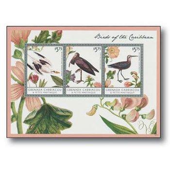 Vögel der Karibik - Briefmarken-Block postfrisch, Grenada