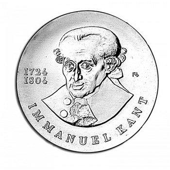 250. Geburtstag von Immanuel Kant, 20 Mark Münze 1974, DDR