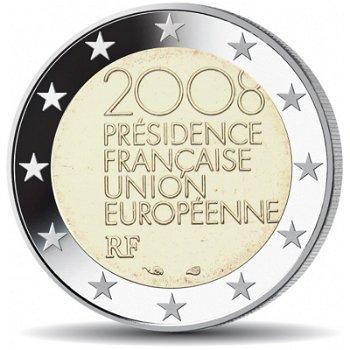 Europäische Ratspräsidentschaft, 2 Euro Münze 2008, Frankreich