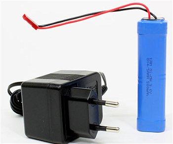 Set: AKKU, Ladegerät und 8 x AA 1,5 V Batterien(Torro)