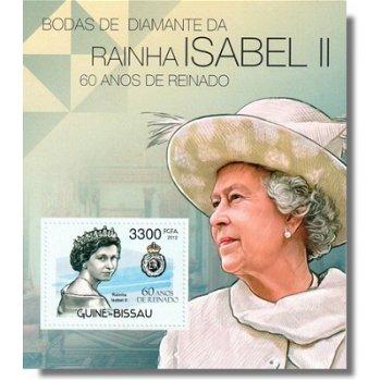 60. Jahre Thronjubiläum Königin Elisabeth II. - Briefmarken-Block postfrisch, Katalog-Nr. 5946 Bl. 1