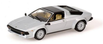 Modellauto:Lamborghini Jalpa von 1981, silber(Minichamps, 1:43)