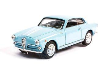 Modellauto:Alfa Romeo Giulietta Sprint - 1. Serie -hellblau(Bang, 1:43)