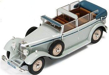 Modellauto:Mercedes-Benz 770 großes Cabriolet F, 1930(IXO Museum, 1:43)