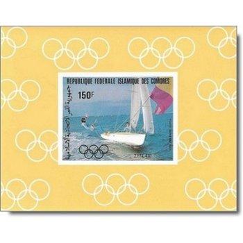 Olympische Sommerspiele 1984 - 4 Luxusblocks postfrisch, Katalog-Nr. 686-689, Komoren