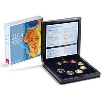 Euro-Kursmünzensatz 2014 - Österreich, Polierte Platte
