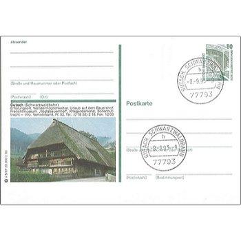 7625 Gutach, Schwarzwaldbahn - Bildpostkarte