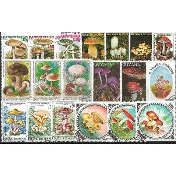 Pilze - 100 verschiedene Briefmarken