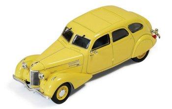 Modellauto:Berliet 11 CV Dauphine von 1939, gelb(IXO Museum, 1:43)