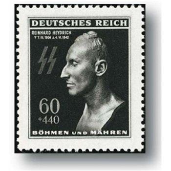 Reinhard Heydrich - Briefmarke postfrisch, Katalog-Nr. 131, Böhmen und Mähren