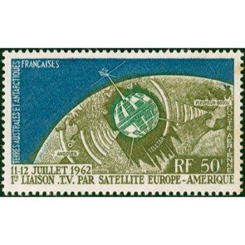1. Fernseh-Direktübertragung - Briefmarke postfrisch, Katalog-Nr. 27, TAAF