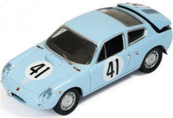 """Modellauto:Simca Abarth 1300 # 41 """"Le Mans 1962""""(IXO, 1:43)"""