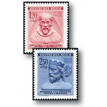 Winterhilfswerk - Personalities - 3 stamps mint never hinged, catalog no. 114 - 116, Bohemia and Mäh