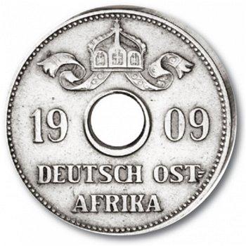 10 Heller, 2 Lorbeerzweige, Deutsch-Ostafrika, Katalog-Nr. 719, Deutsche Kolonien