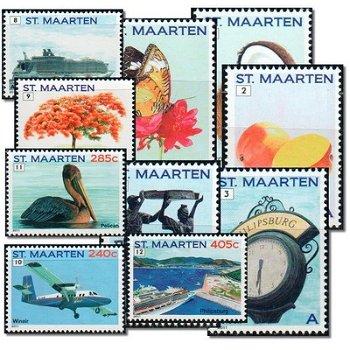 Freimarken - 10 Briefmarken postfrisch, Sint Maarten