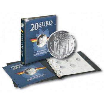20 Euro Silbermünze Rotkäppchen mit passendem Münzalbum