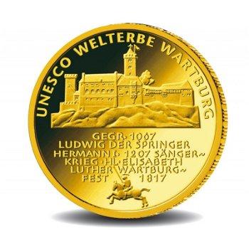 Die Wartburg, 100 Euro Goldmünze 2011, Deutschland