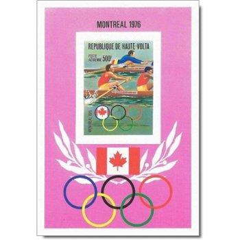 Olympische Sommerspiele, Montreal – Briefmarken-Block postfrisch, ungezähnt, Katalog-Nr. 622, Block