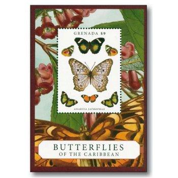 Schmetterlinge - Briefmarken-Block postfrisch, Grenada