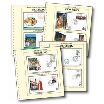 Papst Johannes Paul II. auf Reisen - Reisebelege-Lot