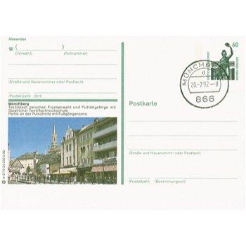 866 Münchberg - Bildpostkarte