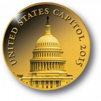 US-Kapitol, Goldmünze Kongo